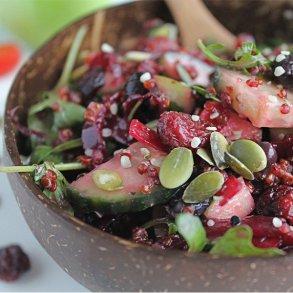 Quinoa & Rødbede Salat