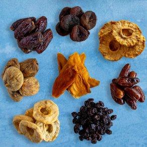 Tørret Frugt uden tilsat sukker